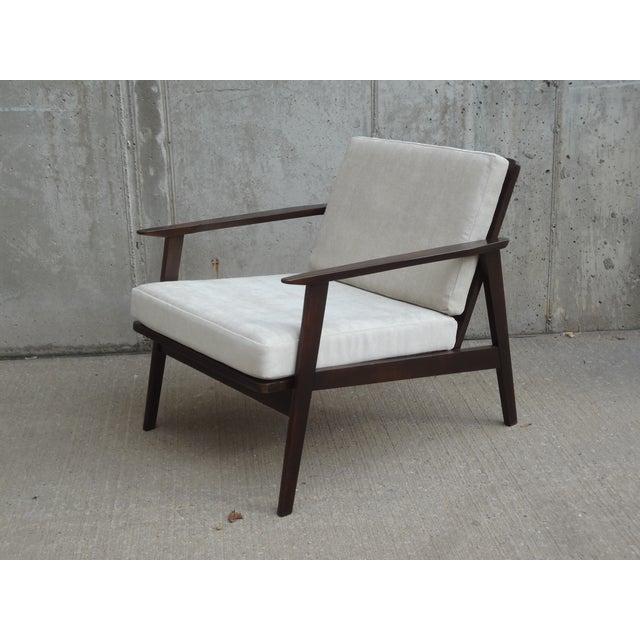 Restored Danish Modern Style Armchair - Image 2 of 11