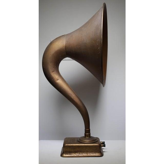 Metal 1920s Magnavox Metal Speaker Horn For Sale - Image 7 of 8