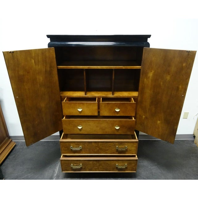 Century Furniture Co. Chin Hua Asian Style Armoire/Gentleman's Chest For Sale - Image 9 of 11