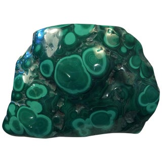 4 1/2 Lbs. Of Polished Malachite For Sale