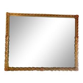 Mid Century Art Nouveau Mirror For Sale