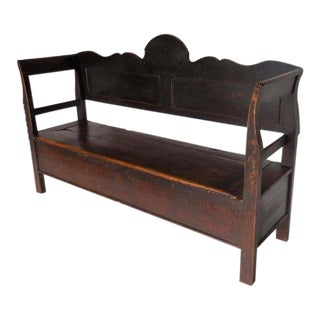 19th Century Northern European Bench For Sale