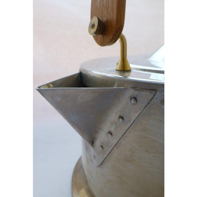 Vintage Carsten Jorgensen Danish Modern Bodum Osiris Teapot For Sale - Image 10 of 11