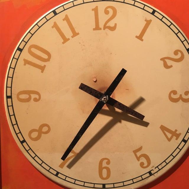 Vintage Nesbitts Orange Soda Clock - Image 4 of 7