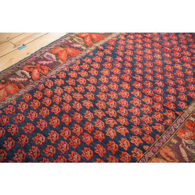"""Old New House Antique Karabagh Carpet - 4'9"""" x 9'4"""" For Sale - Image 4 of 13"""