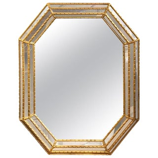 La Barge Giltwood Octagon Mirror For Sale