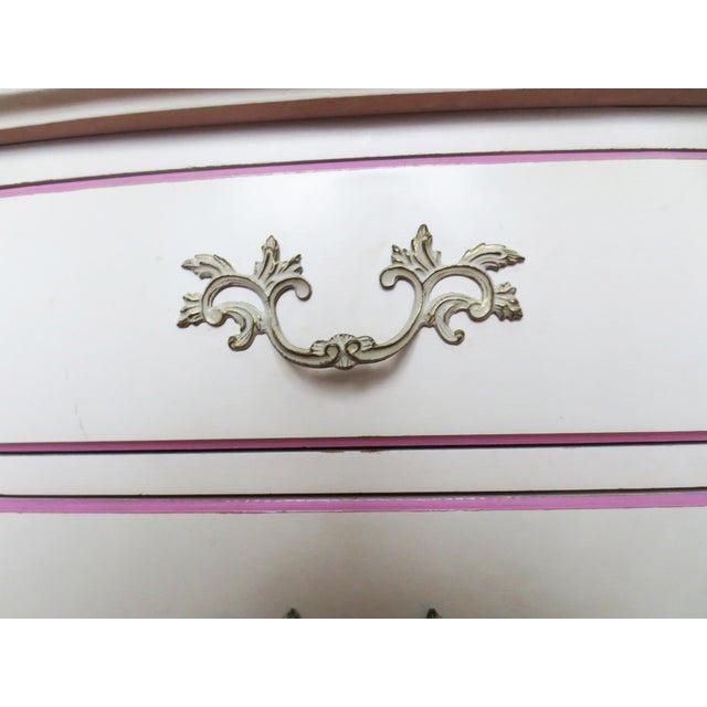 French Provincial Dresser and Secretary Set - Image 7 of 9