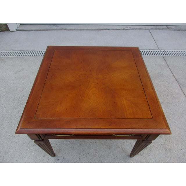 Mid-Century Modern Fine Arts Furniture Company Side Table For Sale - Image 9 of 11