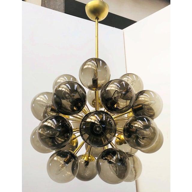 Italian Ventiquattro Sputnik Chandelier by Fabio Ltd For Sale - Image 3 of 12