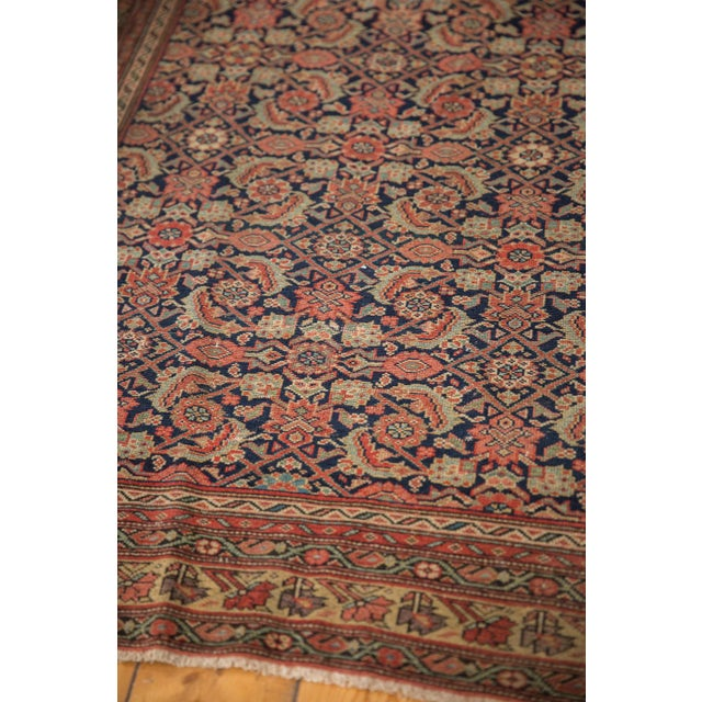 "Red Antique Mission Malayer Rug - 3'8"" X 5'11"" For Sale - Image 8 of 12"