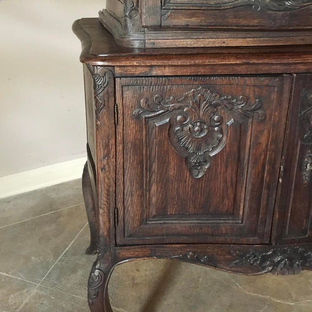 19th Century Country French Vitrine ~ Bookcase For Sale - Image 10 of 13