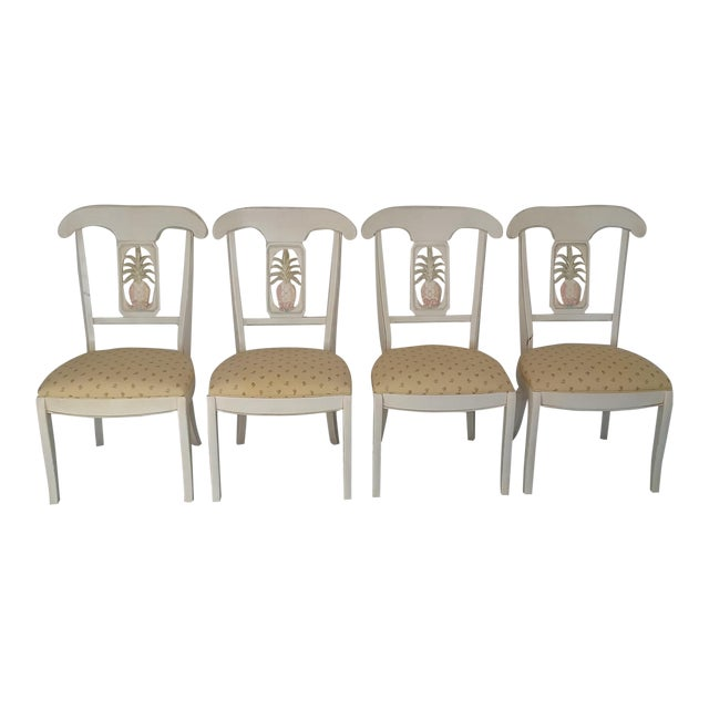 Ethan Allen Dining Room Sets For Sale: Ethan Allen Legacy Solid Wood Dining Chairs