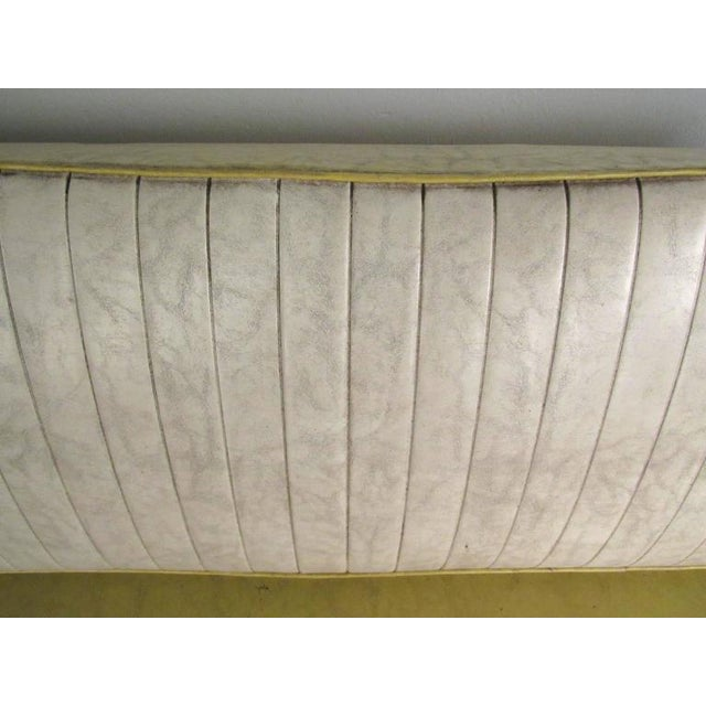 Yellow Richard McCarthy for Selrite Mid-Century Vinyl Daybed For Sale - Image 8 of 10