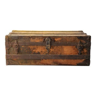 Antique Gaucho Trunk For Sale