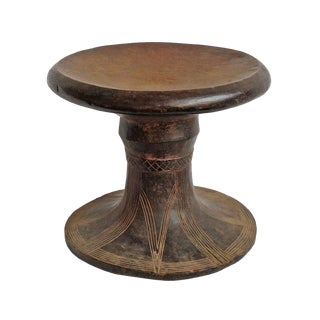 Old Mangbeto Stool Drc For Sale