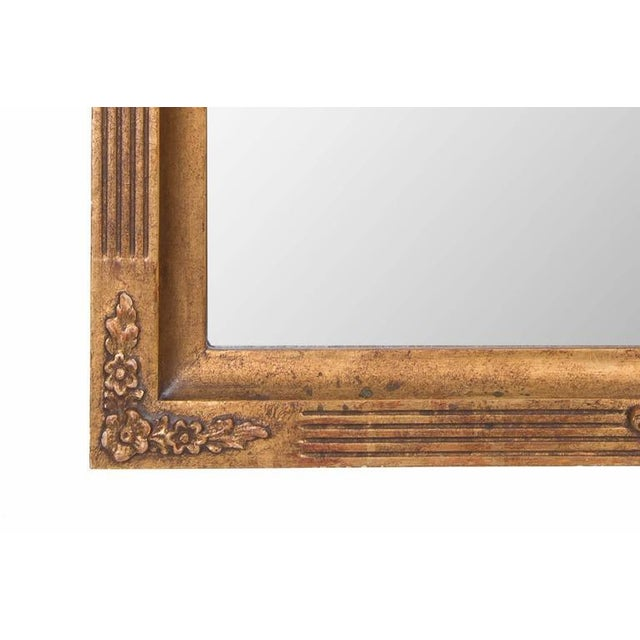 Italian 20th Century Italian Giltwood Mirror For Sale - Image 3 of 6