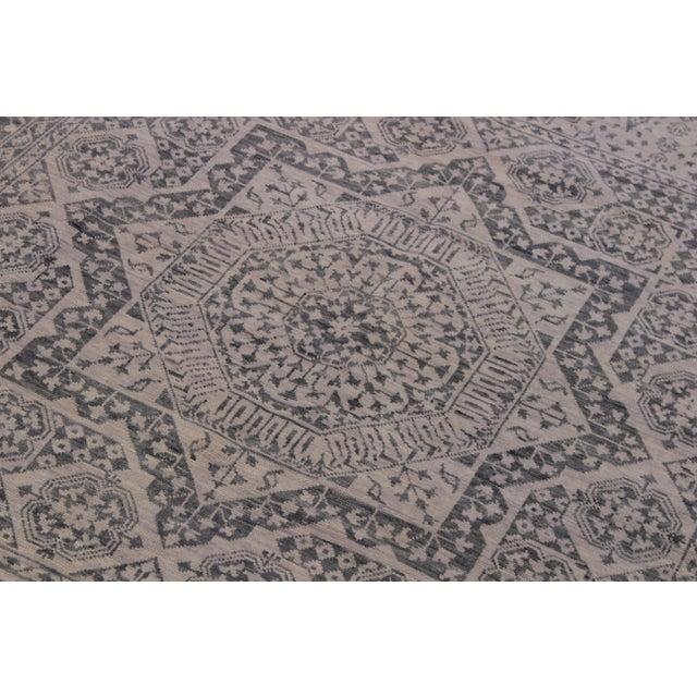 Mamluk Oushak Charmain Wool Rug - 9′1″ × 12′4″ For Sale - Image 4 of 6