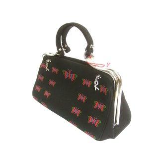 Roberta DI Camerino Charming Butterfly Handbag For Sale