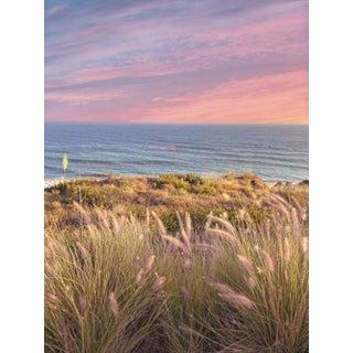 """Malibu Sunset"" Contemporary Seascape Limited Edition Original Photograph For Sale"