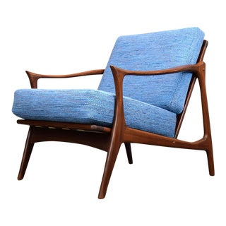 Arne Hovmand Olsen for Mogens Kold Lounge Chair in Knoll Rivington