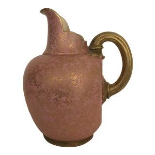 1887 Royal Worcester Porcelain Jug For Sale