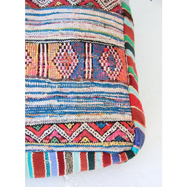 Vintage Moroccan Pouf - Image 4 of 6