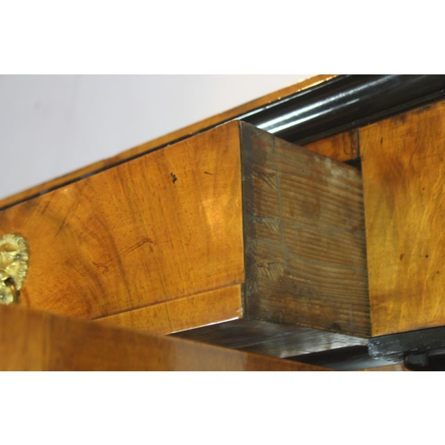 Stellar Union 19th Century English Biedermier Bookcase For Sale - Image 4 of 6