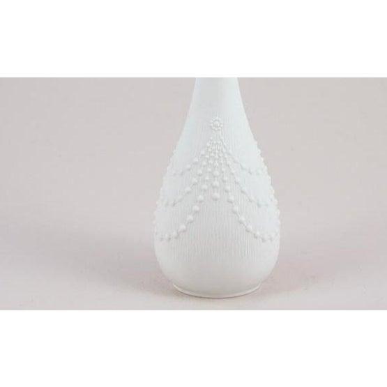 Vintage porcelain vase by Kaiser of Bavaria. Circa 1960's.