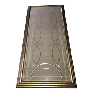 Drexel Heritage Large Wall Mirror For Sale