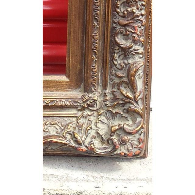 Gold Rimmed Mirror Framed Mirrors Full Length Large Guild Stunning