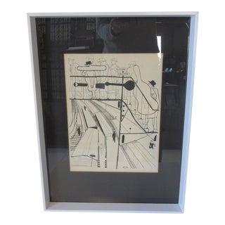 David Stone Martin Jazz Print For Sale