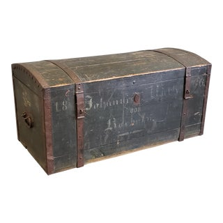 Antique German Immigrant Chest For Sale