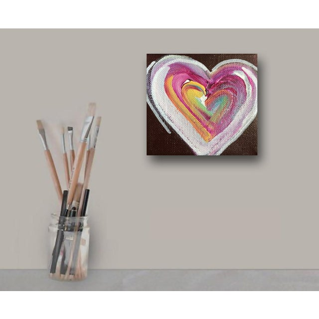 'Chocolate Heart' Original Painting by Linnea Heide - Image 2 of 5
