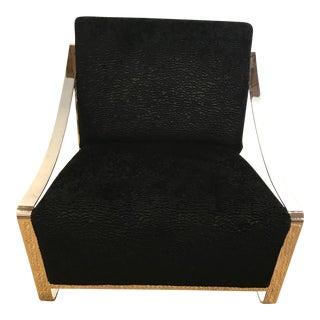 Brett Design Sydney Chair in Nickel Finish For Sale