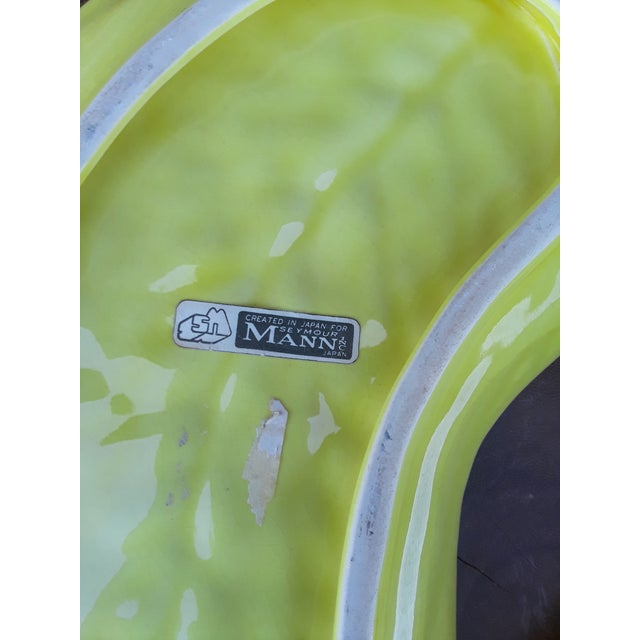 Farmhouse Cabbage Leaf Saucers Salad Plates After Dodie Thayer - Set of 4 For Sale - Image 3 of 9