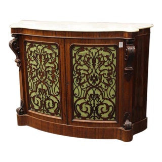 Rococo Revival Rosewood Buffet For Sale