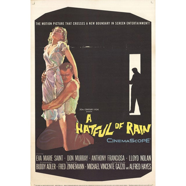 A Hatful of Rain 1957 Poster For Sale