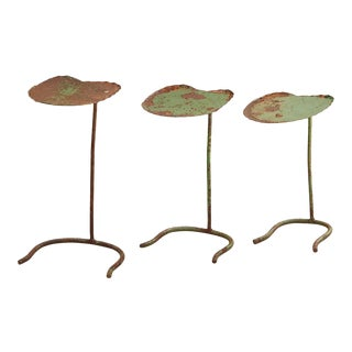 Mid-Century Modern Salterini Lily Pad Nesting Tables - Set of 3 For Sale