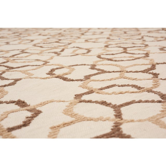 Early 21st Century Schumacher Assyria Grille Wool Area Rug, Patterson Flynn Martin For Sale - Image 5 of 6
