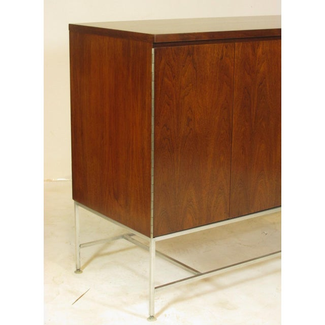 Brown 1950's Mid Century Walnut Server by Paul McCobb For Sale - Image 8 of 11