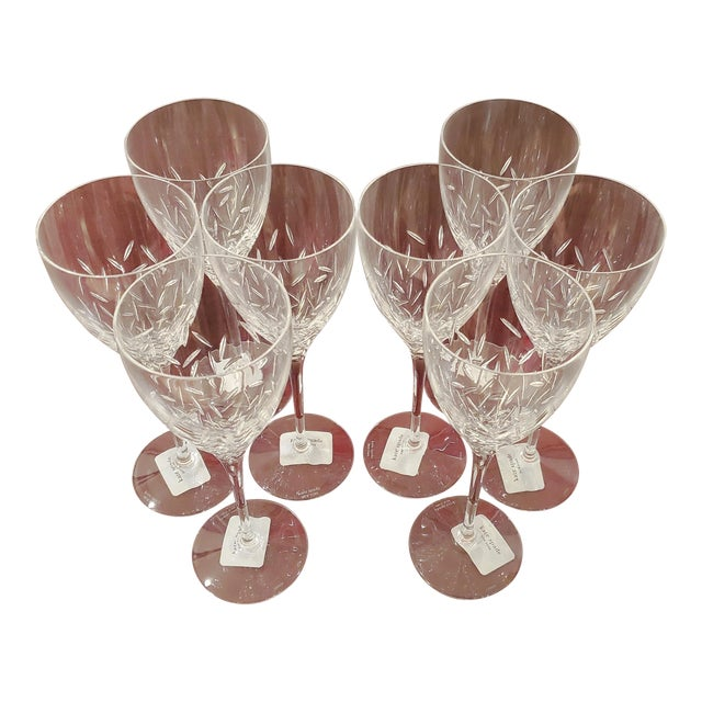 Kate Spade Lenox Beacon Street Goblets- Set of 8 For Sale