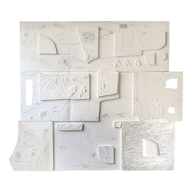 Canvas Monumental Contemporary Mixed Media Painting XIII by William McLure For Sale - Image 7 of 7