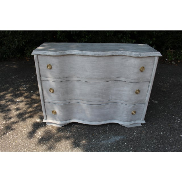 Vintage Mid-Century French Country Chest of Drawers For Sale - Image 4 of 9