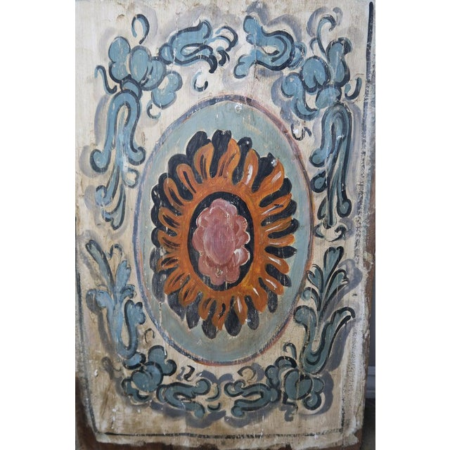 Pair of 19th Century Painted Italian Panels For Sale In Los Angeles - Image 6 of 10