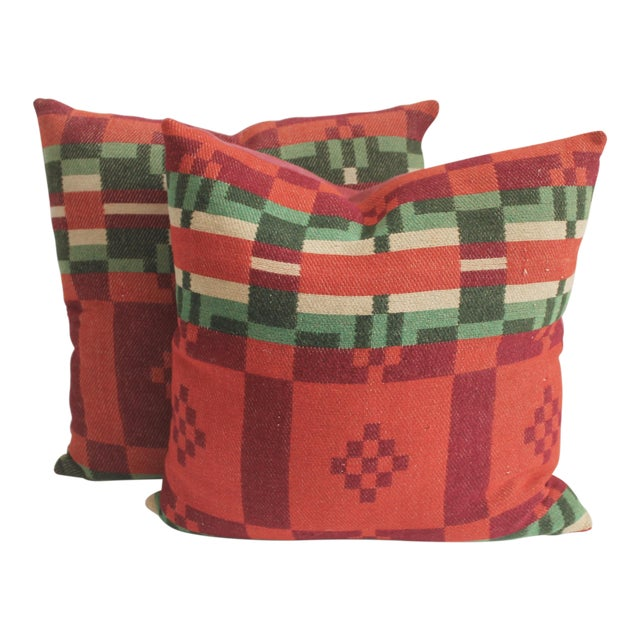 Horse Blanket Pillows - Image 1 of 4