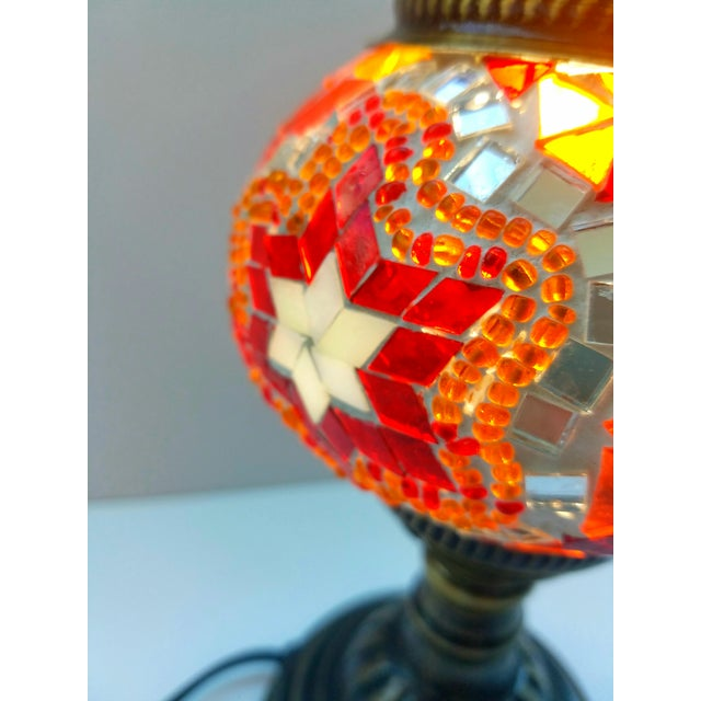 Mosaic Handmade Table Lamp - Image 5 of 5