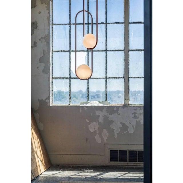 Matthew McCormick Studio Mila 7 Chandelier Light For Sale - Image 4 of 5