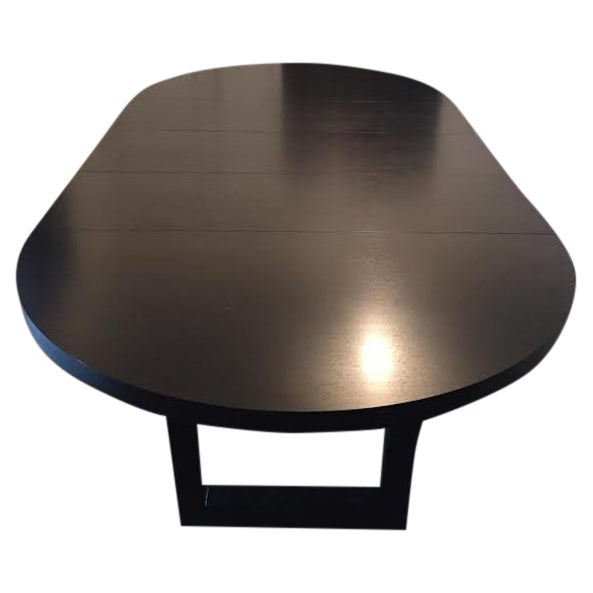 Extendable Dark Walnut Dining Table - Image 1 of 8