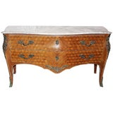 Image of Louis XV-Style Bombé Commode For Sale