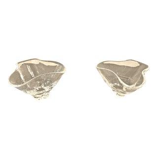 Mid-Century Modern Steuben Glass Small Bowls - a Pair